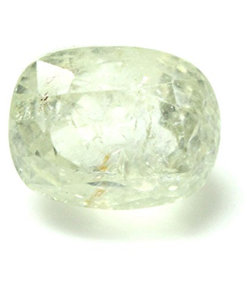 LOOSE 100% NATURAL & CERTIFIED 4.65 ct. YELLOW SAPPHIRE GEMSTONE