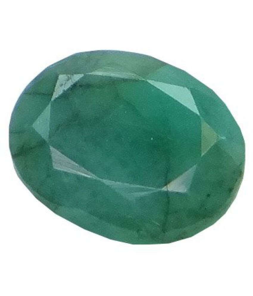 EMERALD PANNA 4.23 ct. / 4.7 Ratti PURE & IIGS CERTIFIED EMERALD (PANNA) ASTROLOGICAL GEMSTONE BY ARIHANT GEMS & JEWELS