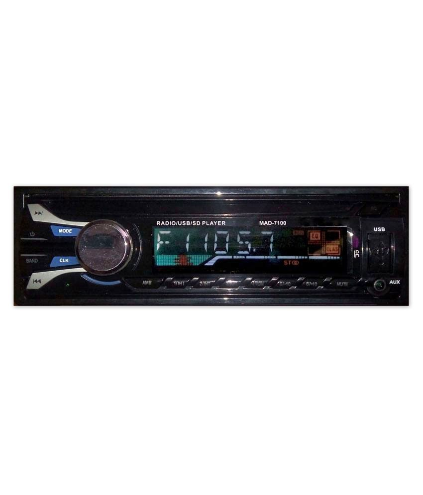 Indo Best Mad 7100 Detachable Single Din Car Stereo Buy Indo