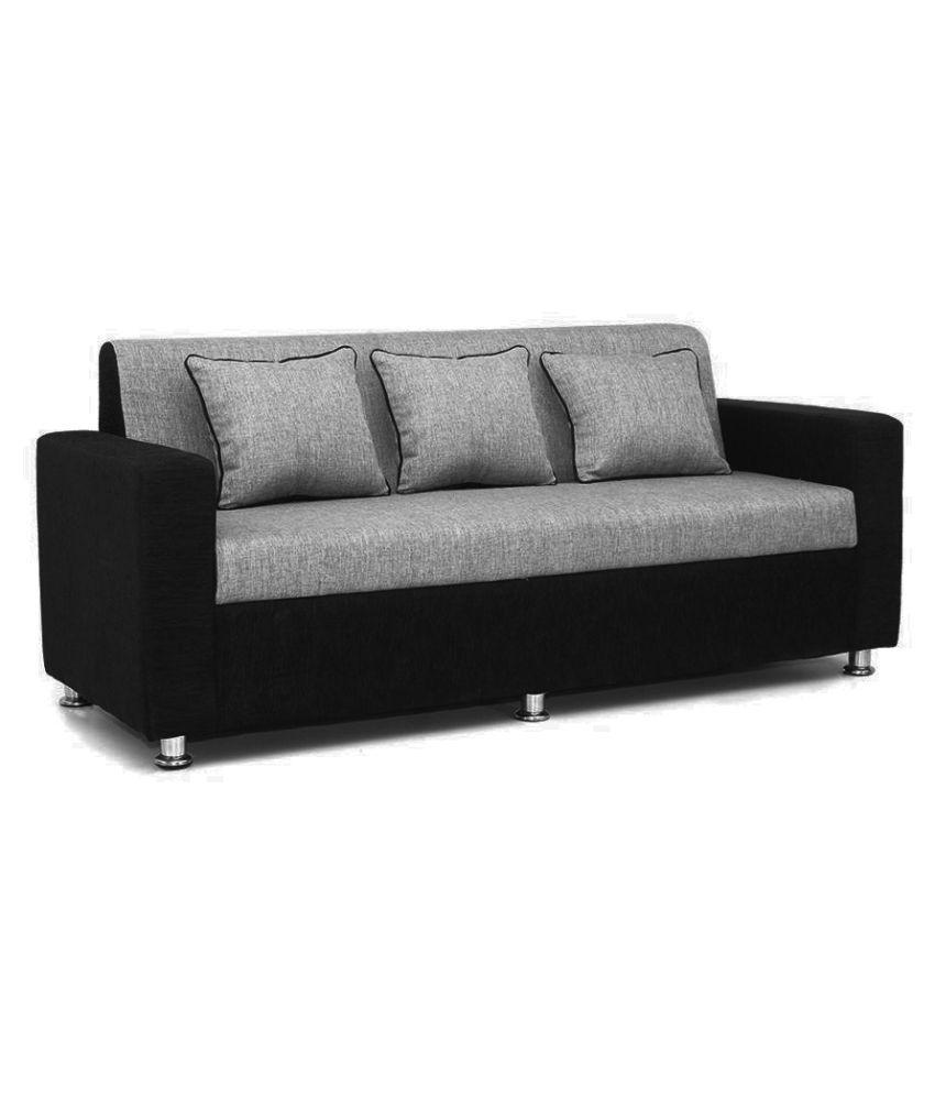 Swell Bharat Lifestyle Tulip Fabric 3 1 1 Sofa Set Buy Bharat Machost Co Dining Chair Design Ideas Machostcouk