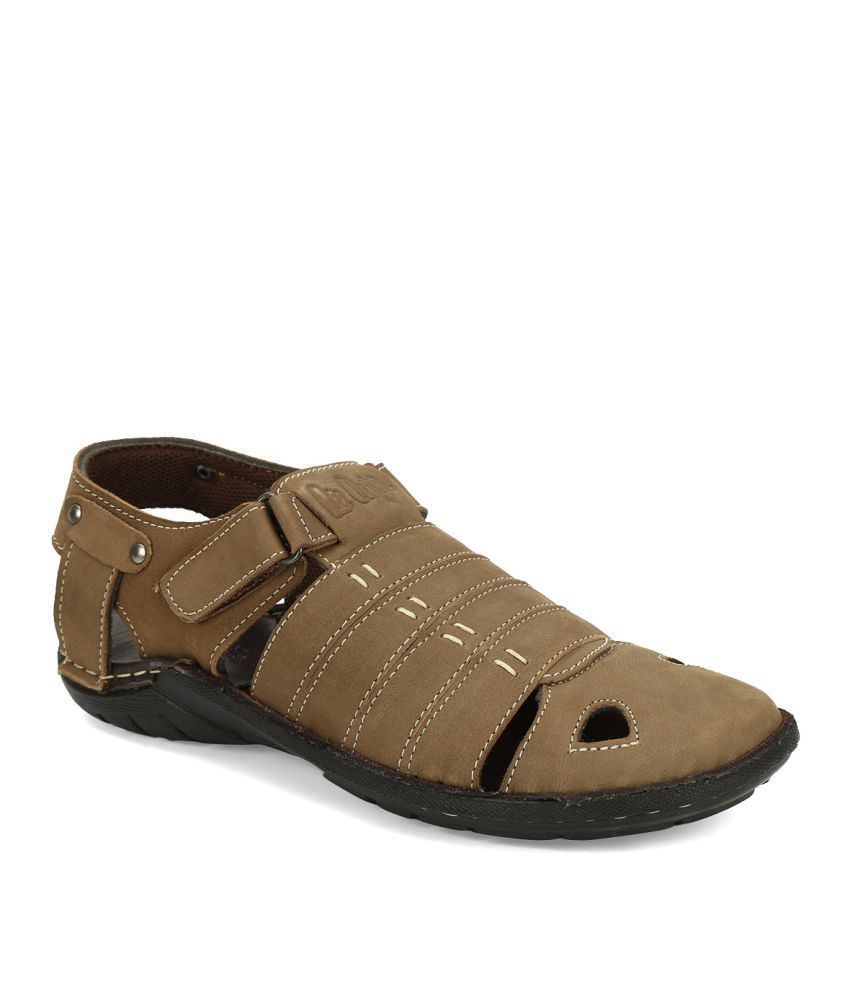 a43a638f Lee Cooper LC1963 Khaki Sandals Price in India- Buy Lee Cooper LC1963 Khaki Sandals  Online at Snapdeal