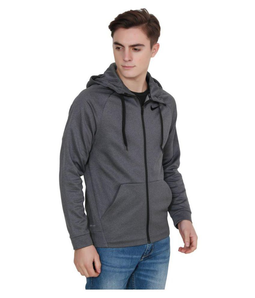 4431e003098b6 Nike Grey Casual Jacket - Buy Nike Grey Casual Jacket Online at Best ...
