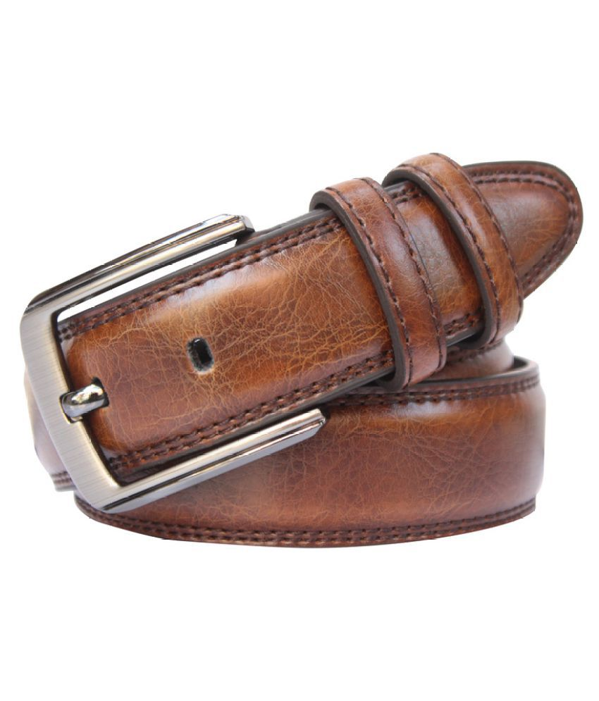 Winsome Deal Brown Faux Leather Casual Belts