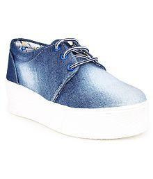 Do Bhai Blue Casual Shoes