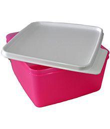 Tupperware Keep Tab Medium - 1.2 L - 1 PC - Pink Colour