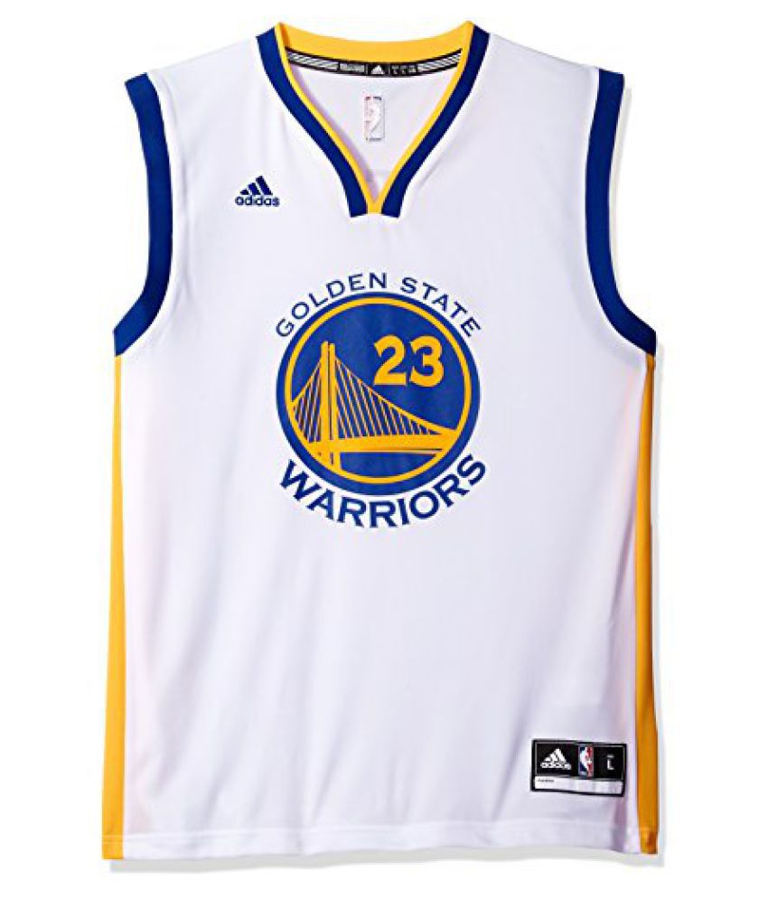 ... Large NBA Golden State Warriors Draymond Green  23 Men s Replica Home  Jersey ed45f87df
