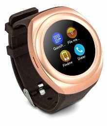 SYL PLUS Samsung Galaxy J5 Smart Watches Brown