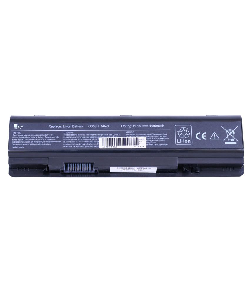 4D Impex Laptop battery Compatible For Dell VSTR-F287H-6CLB