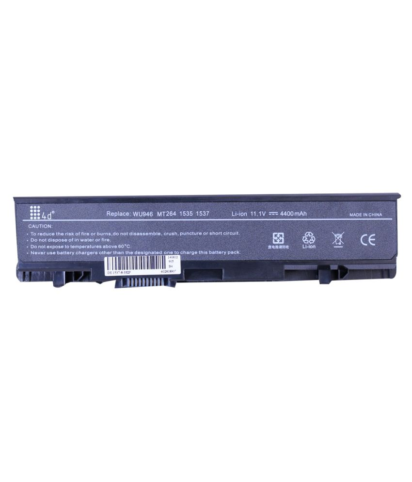 4d Impex Laptop battery Compatible For Dell 4d-DELL-STUD-312-0702-6CLB