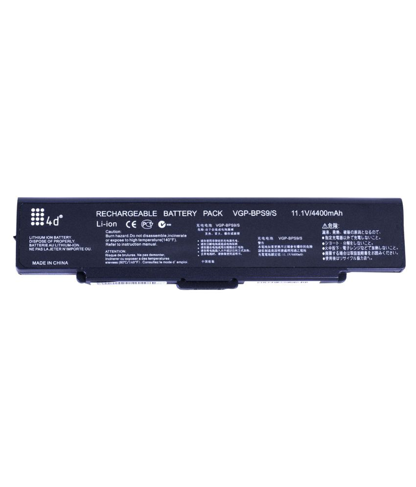 4d Impex Laptop battery Compatible For Sony VAIO-VGN-SZ651NC-6CLB
