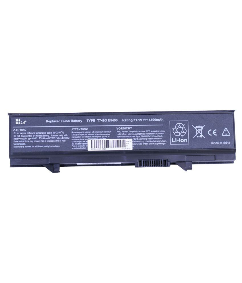 4d Impex Laptop battery Compatible For Dell LATD-0RM668-6CLB