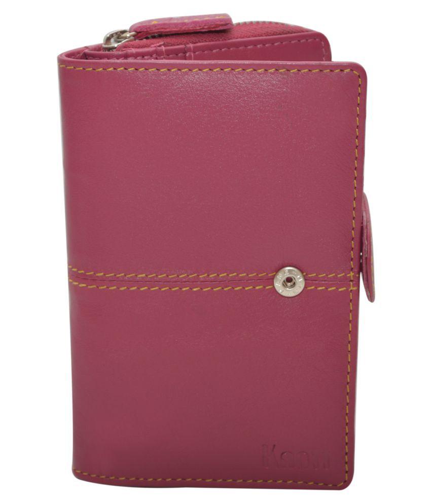 Knott Pink Wallet