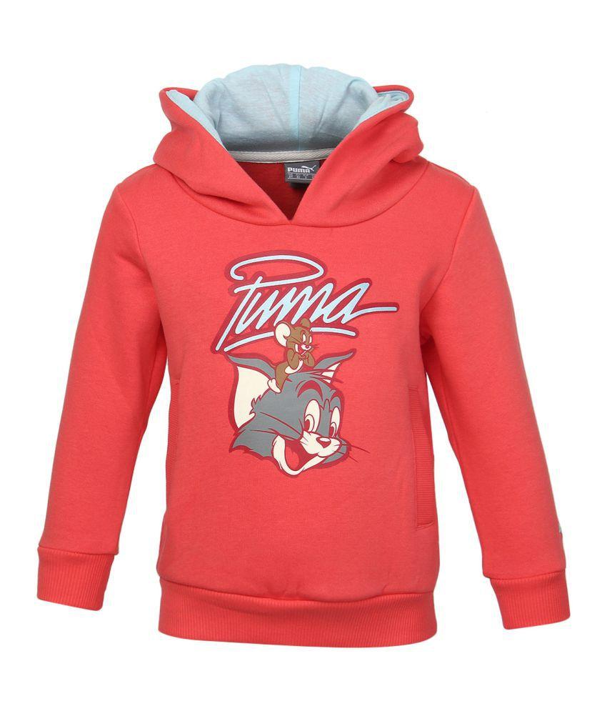 Puma G-Sweatshirts Orange