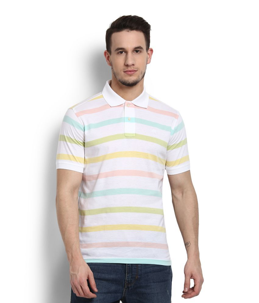 Allen Solly Multi Polo T-Shirt