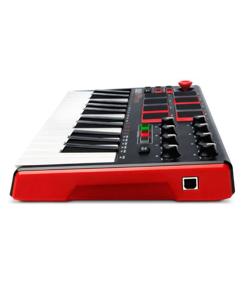 akai akai mpk mini mk2 25 mini keys usb midi controller keyboard 25 keys buy akai akai mpk mini. Black Bedroom Furniture Sets. Home Design Ideas