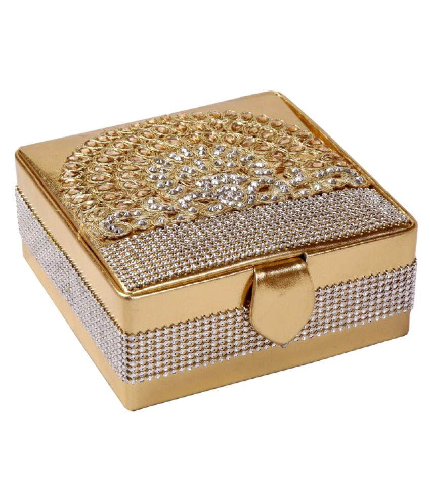 D'JazZ Women's Flourishing designed Make up/cosmetic/Jewelry Organizer Gift box 5