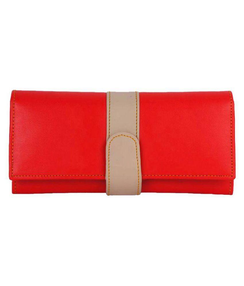 Kandel London Red Wallet