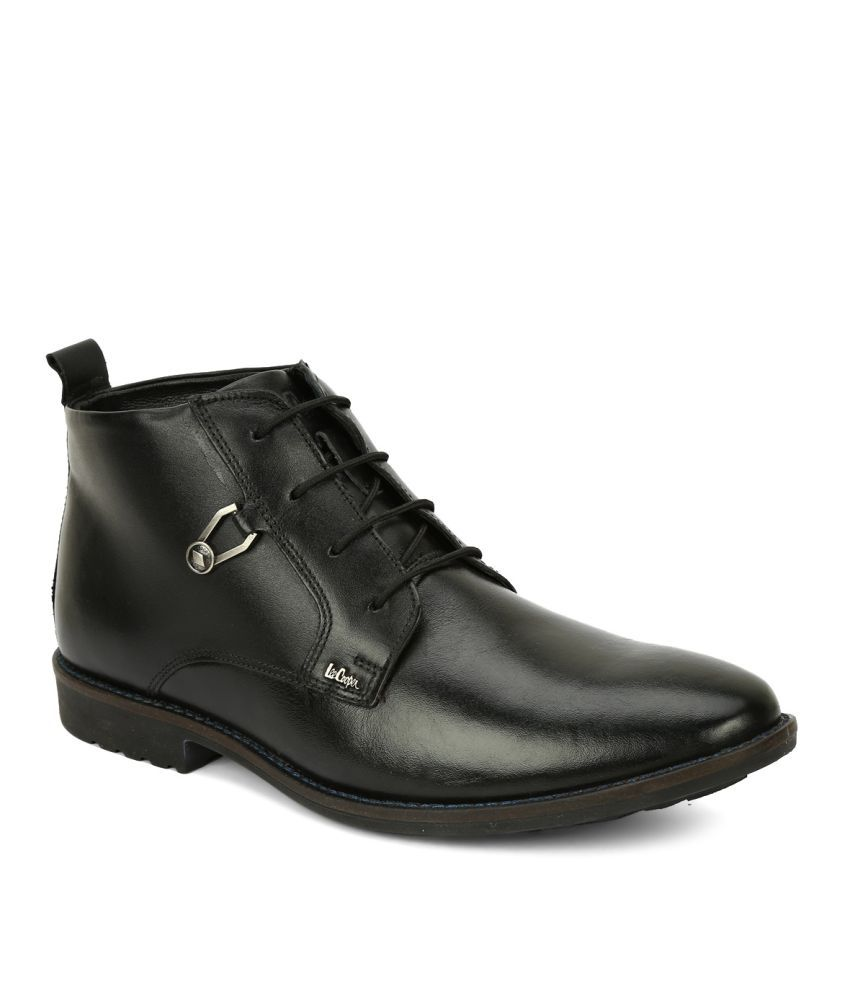Lee Cooper Black Formal Boot