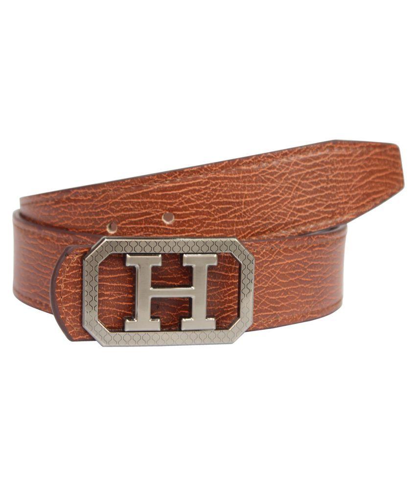 Bacchus Beige Faux Leather Casual Belts