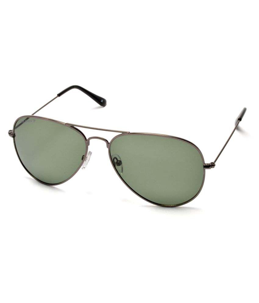 Joe Black Green Aviator Sunglasses ( 824-C6P )