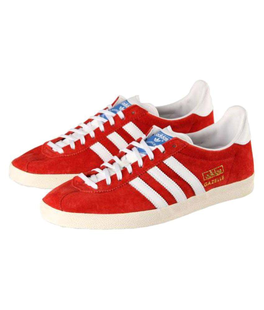 1f690765543 Adidas Gazelle Sneakers Red Casual Shoes - Buy Adidas Gazelle Sneakers Red  Casual Shoes Online at Best Prices in India on Snapdeal