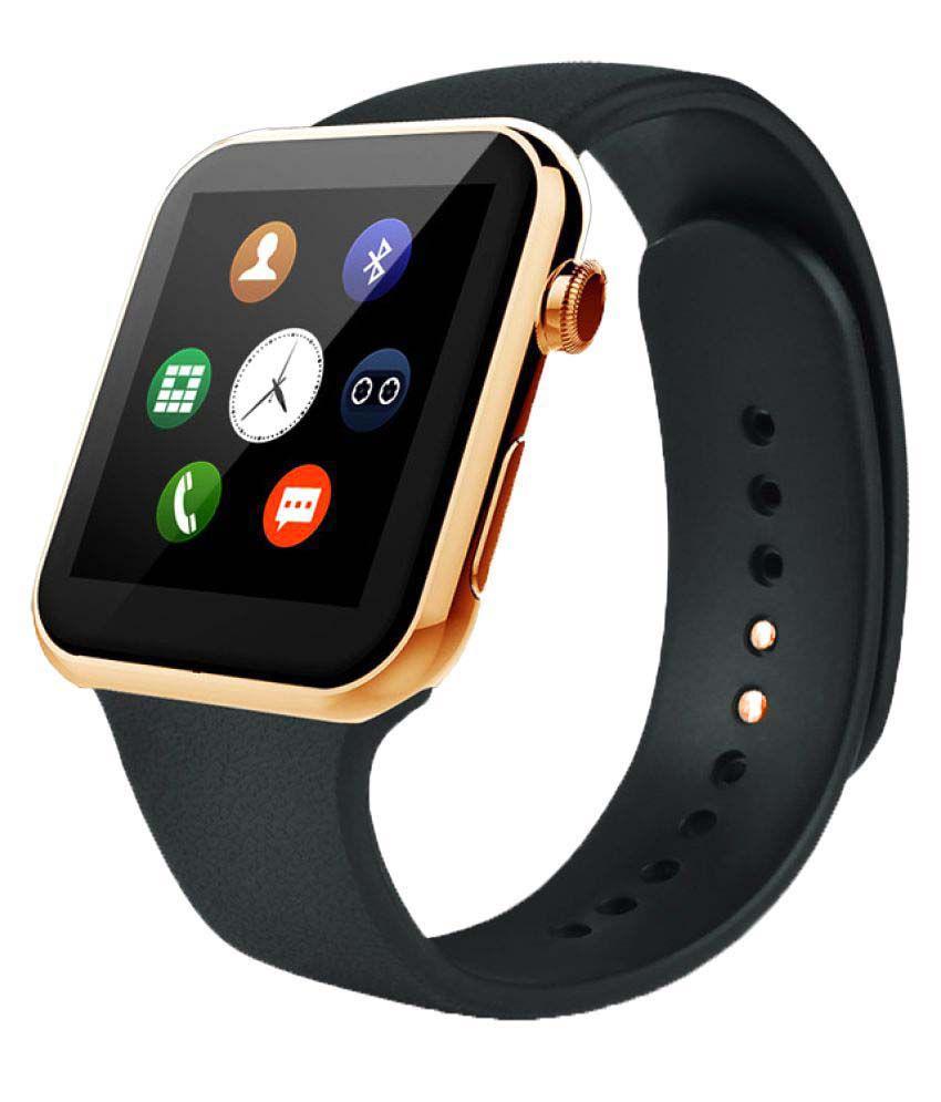 competitive price e2fce fa4d8 Casvo iPhone 6 Plus Smart Watches Black