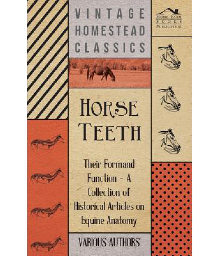 Horse Teeth - Their Form and Function - A Collection of Historical ...