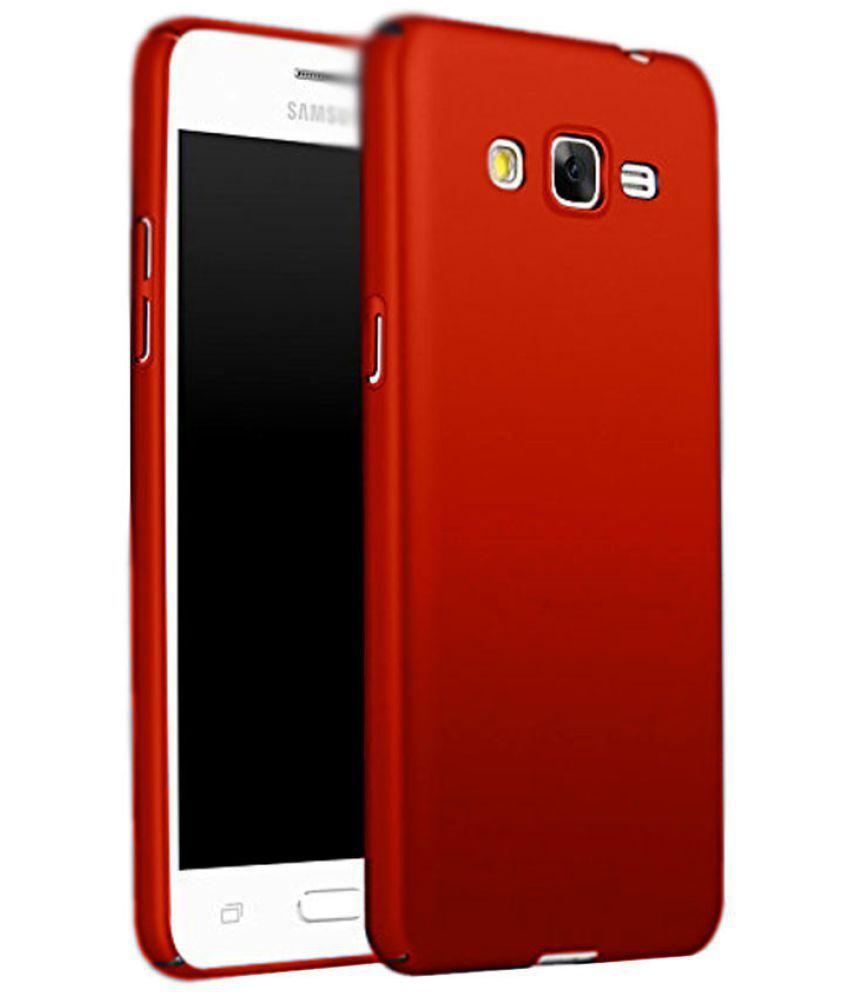 premium selection 2851f de77f Samsung Galaxy Grand 2 Plain Cases Coverup - Red - Plain Back Covers ...