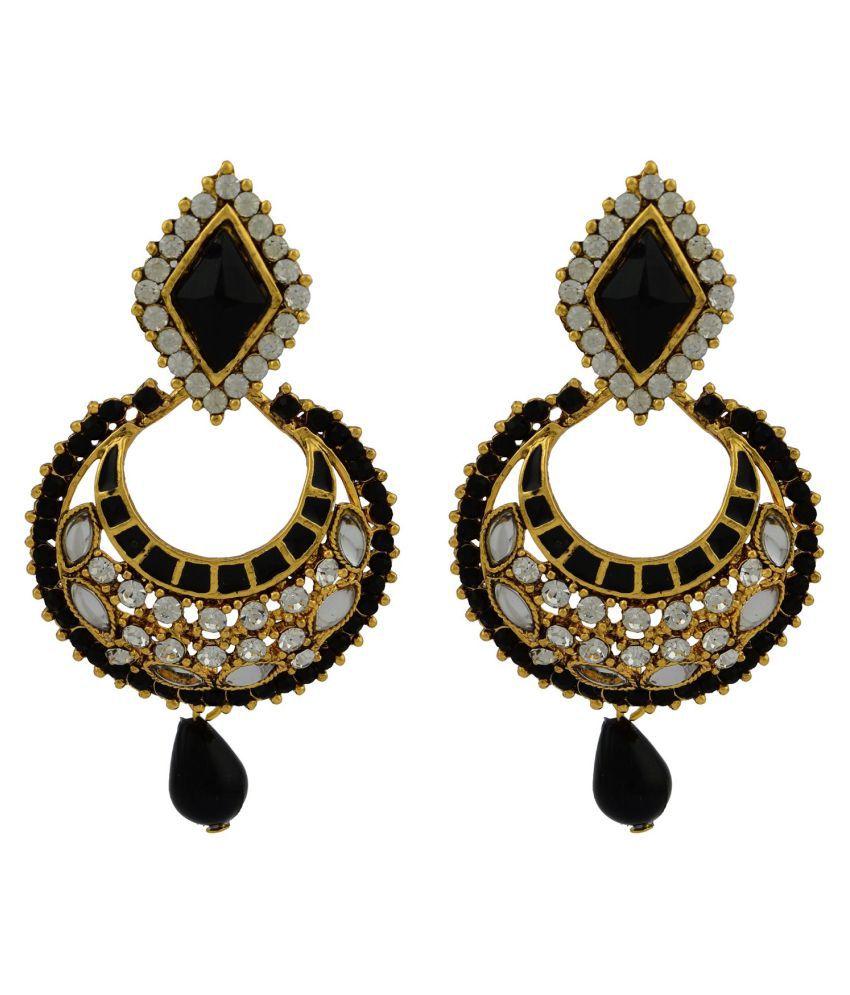 High Trendz Multicolour Drop Earrings Single Pair