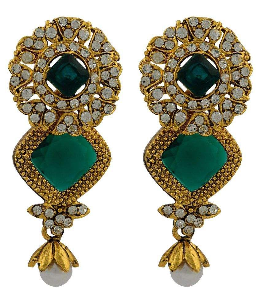 High Trendz Stylish Traditional Ethnic Hangings Earrings
