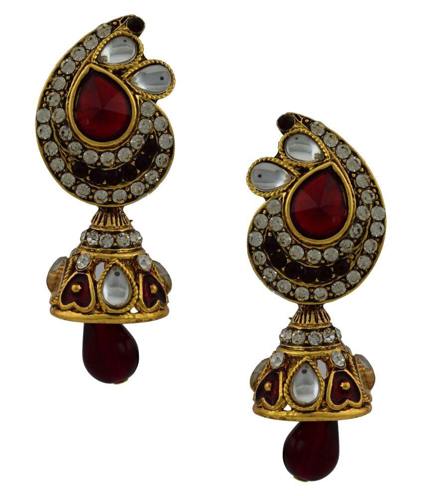 High Trendz Multicolor Earrings