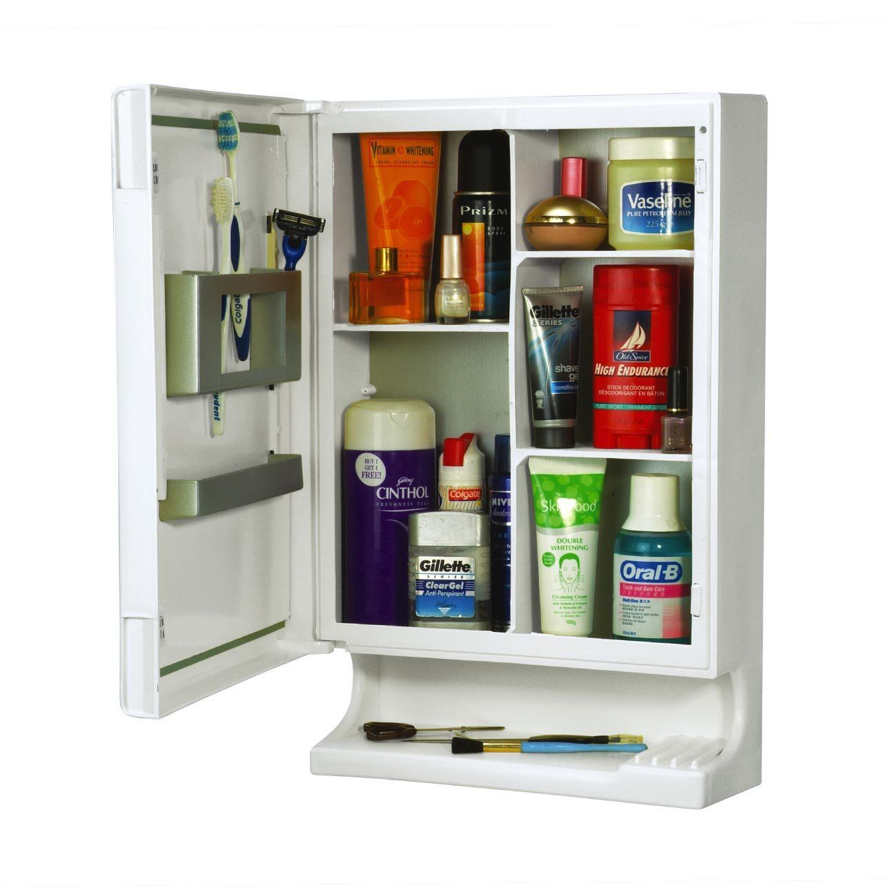 Buy Cipla Plast New Look Multipurpose Cabinet In White Online At Low Price In India Snapdeal