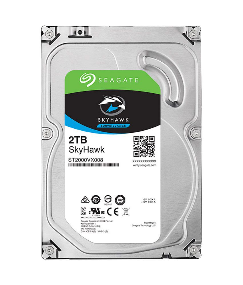 Seagate Skyhawk 2 TB Internal Hard Drive for Surveillance