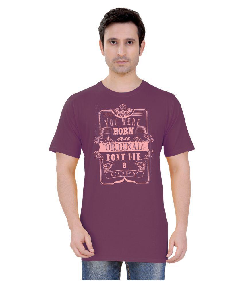 Tantra Purple Round T-Shirt