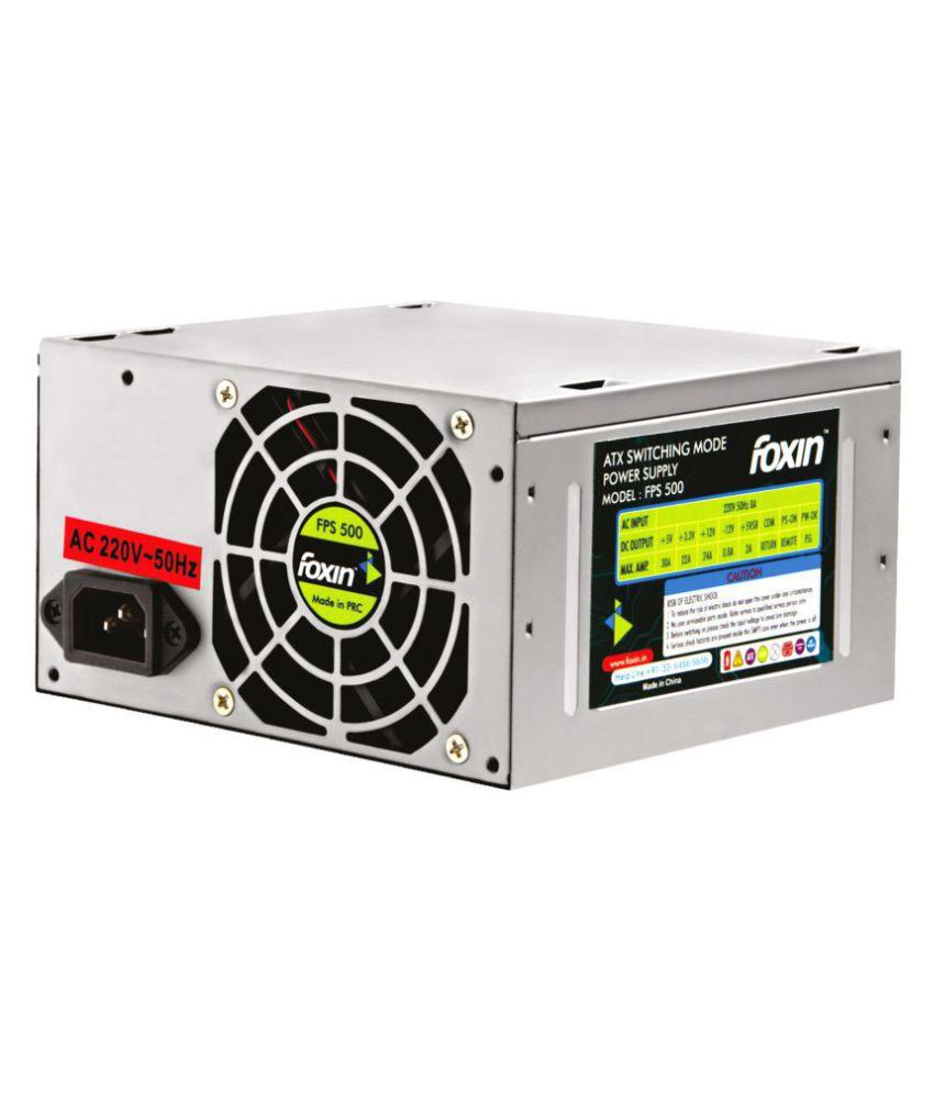 Foxin FPS 500 SMPS & Power Supply - Buy Foxin FPS 500 SMPS & Power ...