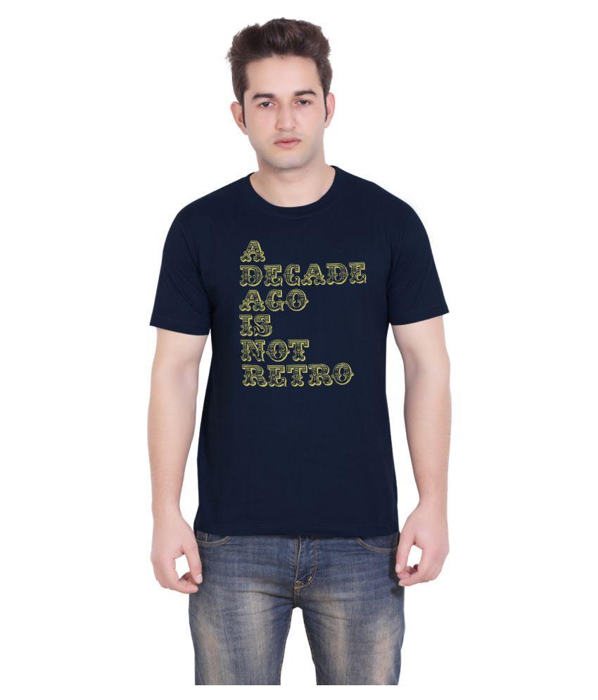 Tantra Navy Round T-Shirt