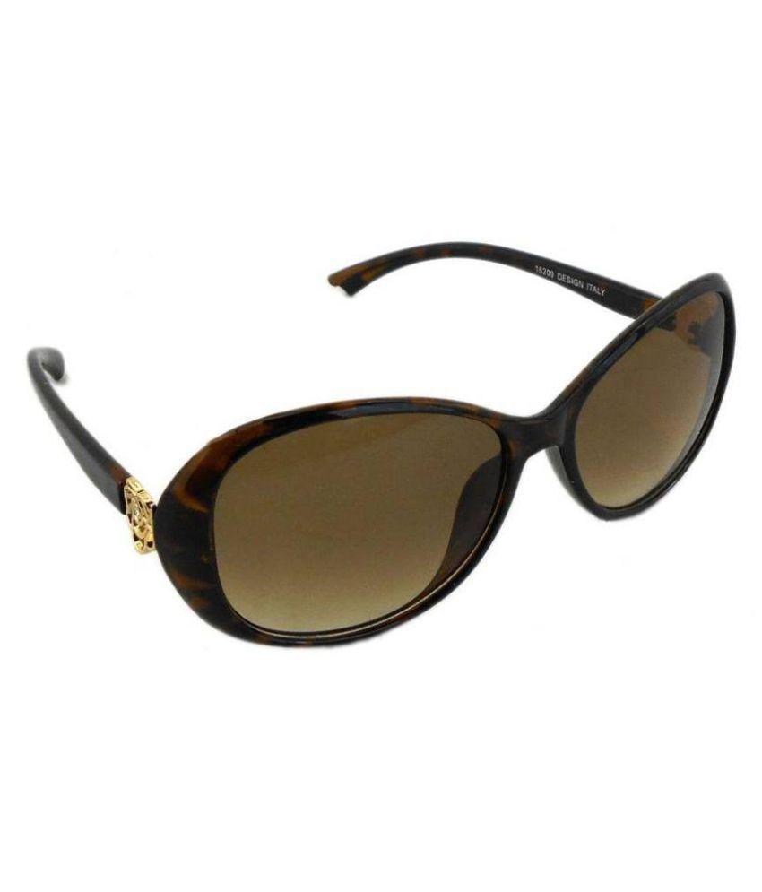 Redeemer Brown Oversized Sunglasses ( Beyond )