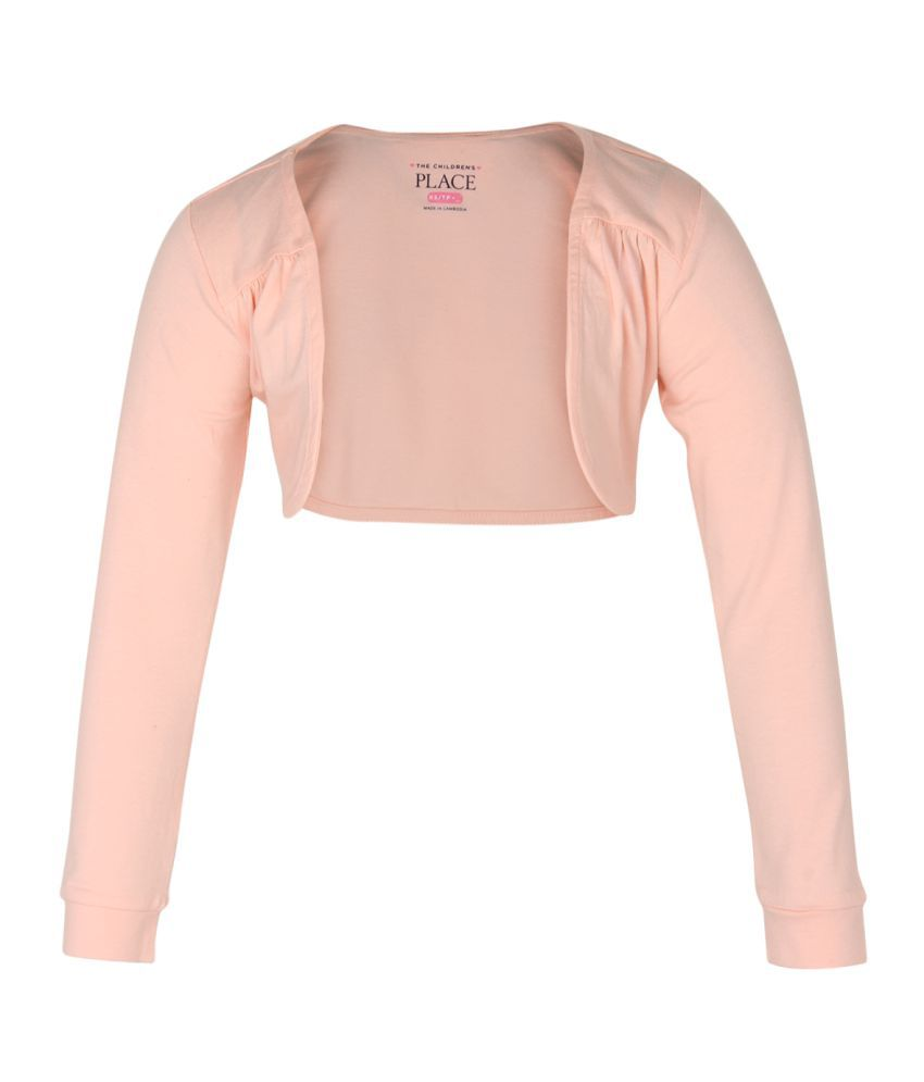 The Childrens Place Girls Long sleeve shrug