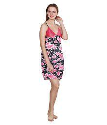 Queen Pretty Satin Nighty & Night Gowns - 686423877327