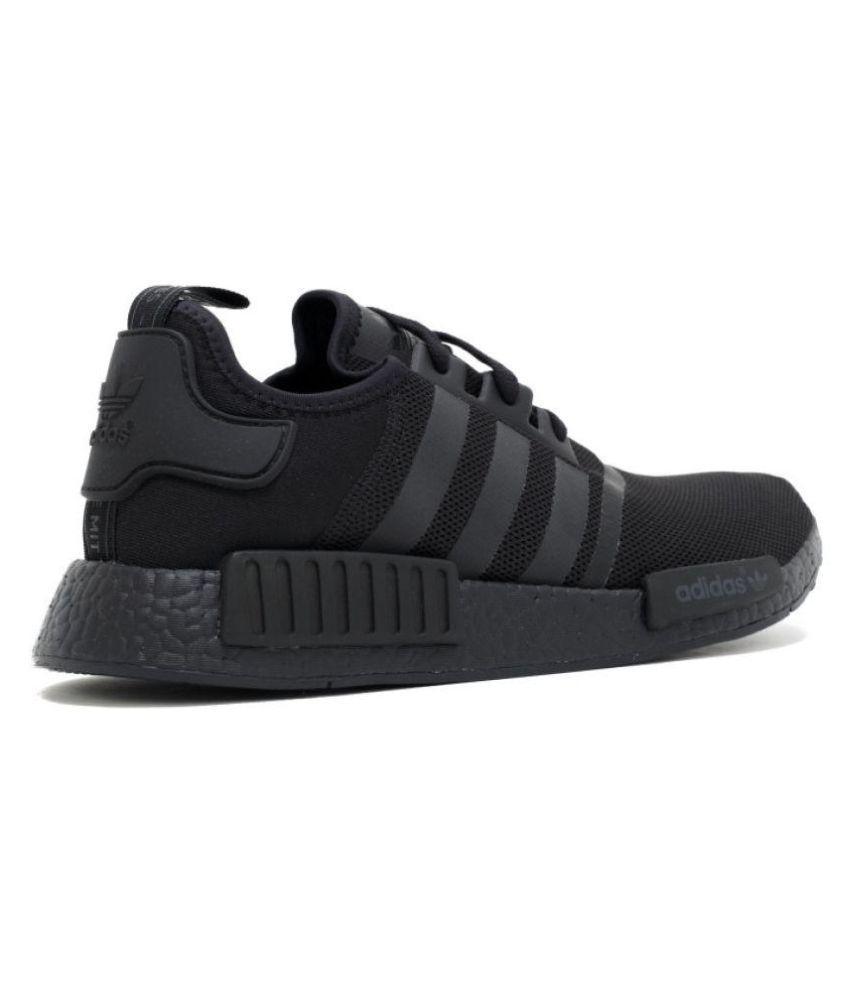 291c5ebd4 Adidas NMD R1 PK Black Running Shoes - Buy Adidas NMD R1 PK Black ...