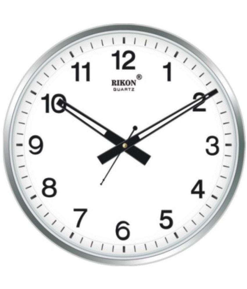 8e3a88fdc Rikon Circular Analog Wall Clock - 40  Buy Rikon Circular Analog Wall Clock  - 40 at Best Price in India on Snapdeal