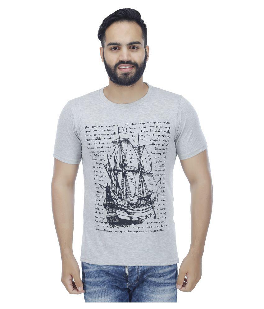 Christy World Grey Round T-Shirt