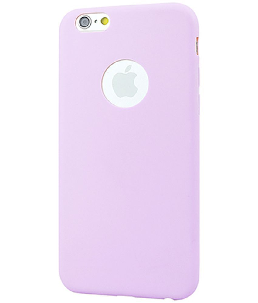 Apple iPhone 7 Soft Silicon Cases Coverup - Purple