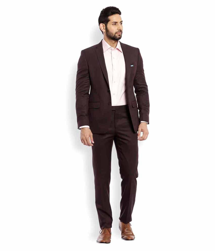 Raymond Brown Washed Formal Suit