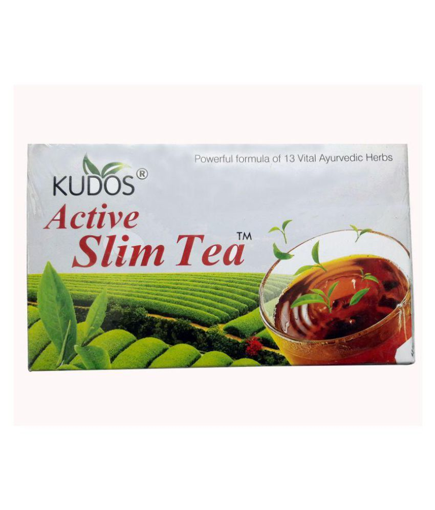 Kudos Active Slim Green Tea Bags 130 gm Pack of 2
