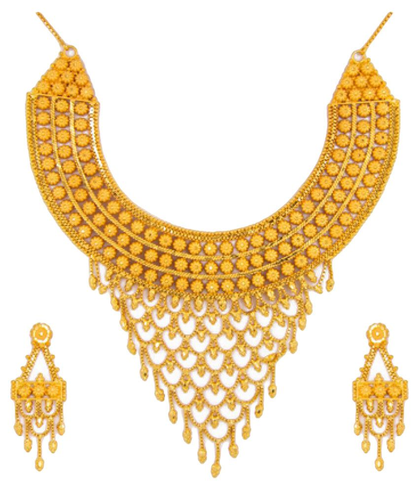 set green com golden and necklace tfjfashion product terracotta tandra