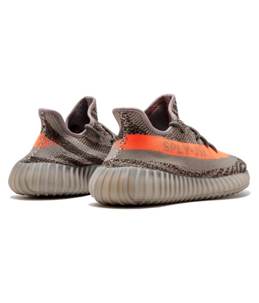 d645951954c5e Adidas Yeezy Boost 350 V2 Gray Running Shoes - Buy Adidas Yeezy ...