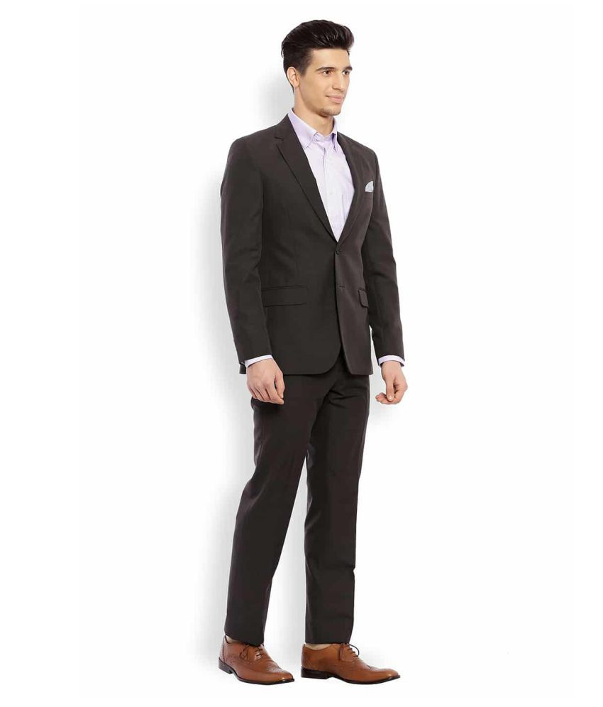 59cdc49cb41a3 Raymond Black Washed Formal Suit - Buy Raymond Black Washed Formal ...