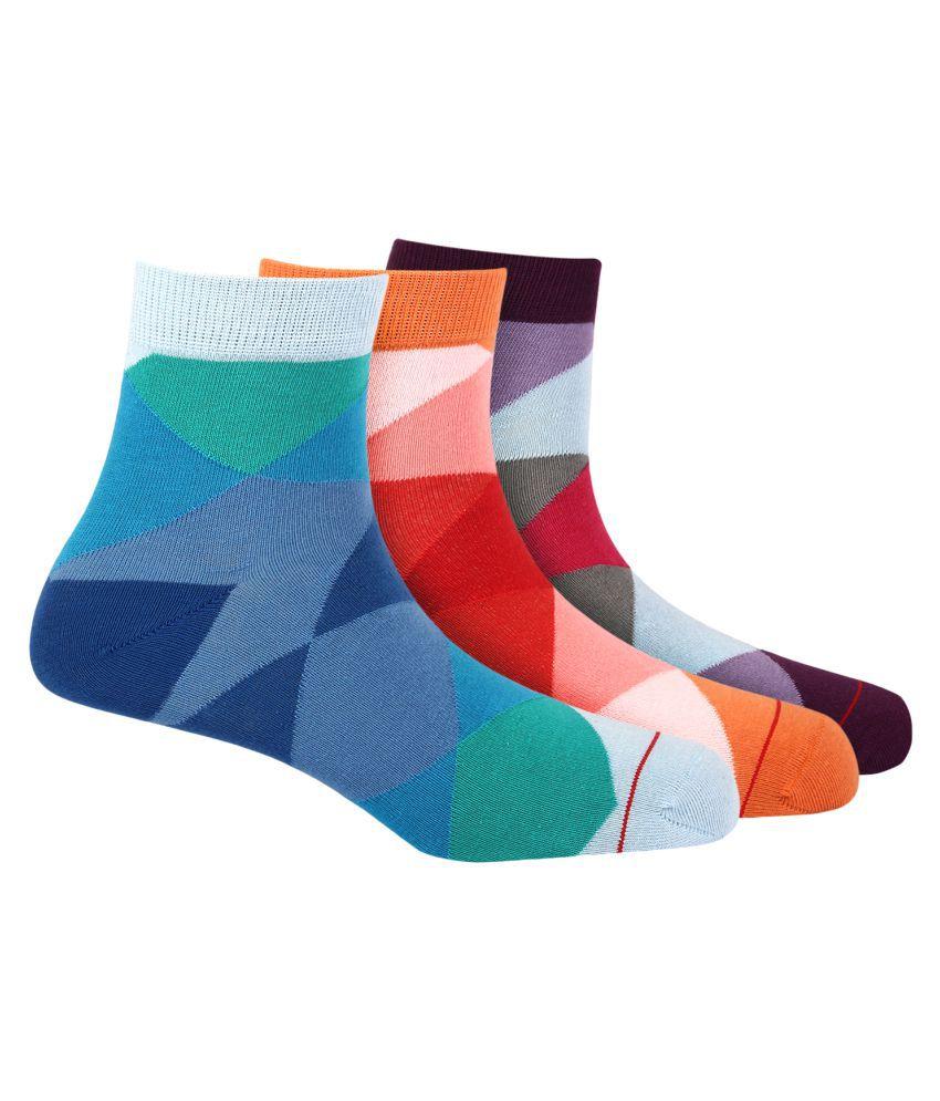 Soxytoes Multi Casual Ankle Length Socks