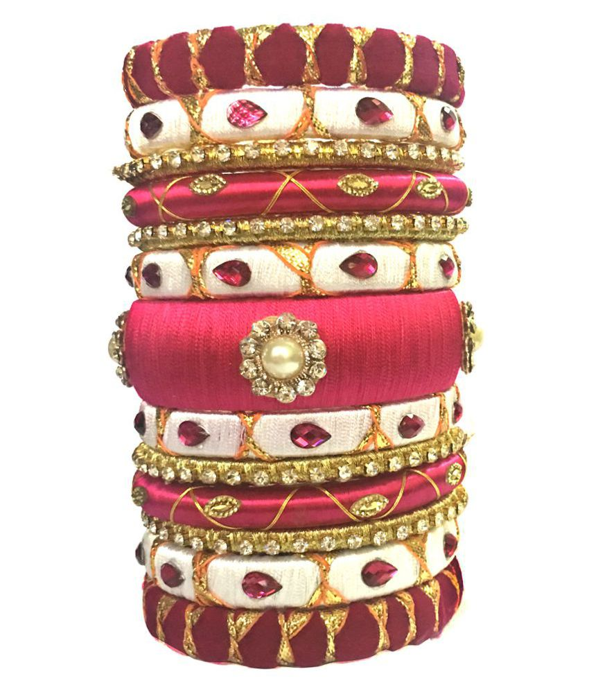 Kuhuk Multicolor Bangle Set